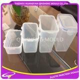 Lavorazione con utensili trasparente della casella sigillata dell'iniezione di plastica