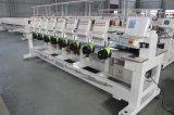 모자 편평한 t-셔츠 자수를 위한 2017년 중국 최고 판매 지능적인 전산화된 운영 8 헤드 15 바늘 자수 기계