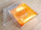 Порекомендованная коробка ясности оптовой продажи фабрики пластичная прозрачная для вахты или ювелирных изделий