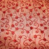 Borduurwerk dat van de Polyester van het Kant van het Borduurwerk van de Breedte van Voorraad het In het groot 22cm van de fabriek Nylon Netto Buitensporig Chemisch Kant voor de Textiel van de Toebehoren & van het Huis van Kledingstukken &Curtains in orde maakt