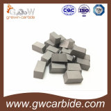 De de Gesoldeerde die Uiteinden/Tussenvoegsels van het wolfram Carbide voor Metaal worden gebruikt