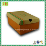 Two Pieces Custome Printed Corrugated Paper Box for Shoe