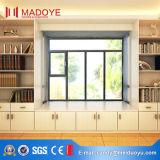 De aluminio de ventana de bisagras cristal y la puerta