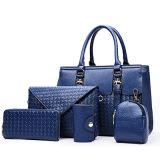 Form gesponnene Art-Handtaschen-Fonds 5PCS im Set sackt Großhandelsfrauentote-Schulter-Beutel Sy8243 ein