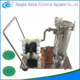 飲用に適した水のためのステンレス鋼水フィルター