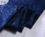 tessuto da arredamento floreale impresso 3D del velluto del poliestere