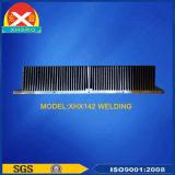 Het aluminium schaaft Vin Heatsink voor Elektronische Apparatuur met ISO9001 af: 2008 Gediplomeerd