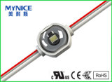 Impermeable SMD 160 haz de ángulo LED módulo retroiluminación con lente