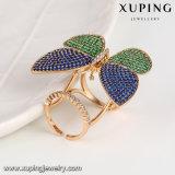Form eleganter Mehrfarben-CZ-Basisrecheneinheits-Schmucksache-Finger-Ring für Women-14108