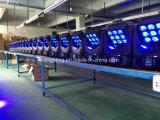 Nieuwe Hete het Verkopen 4in1 LEIDEN 9*10W RGBW Bewegend HoofdLicht