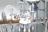自動線形ヨーグルトのコーヒーミルクの満ちるシーリング機械分類機械