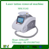 Nd van de Apparatuur van de Schoonheid van de laser Draagbaar Q Geschakeld: De Machine Mslyl02A van de Verwijdering van de Tatoegering van de Laser YAG