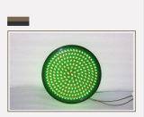 Luz verde roja bicolor de la señal de tráfico de la ensambladura de camino 400m m