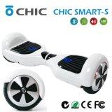 """""""trotinette"""" de equilíbrio do auto chique da roda de Bluetooth APP 2, mãos livre, cor vermelha, S esperto chique"""
