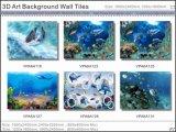 Azulejos esmaltados pulidos cuadro de la porcelana del arte (VPA6A136)