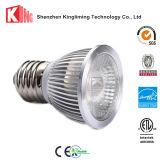 Proyector blanco de la hora solar 5000k PAR16 de la lámpara LED de la alta calidad E26 E27
