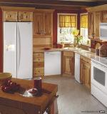 低価格の性質の未加工木食器棚