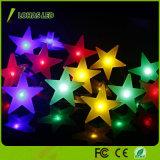 Indicatore luminoso flessibile della stringa della stella LED di RGB di bianco caldo per la decorazione di Chiristmas
