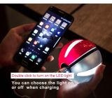 2016 Hot Selling Unique Power Bank Lithium Polymer Fast Charger com luz LED