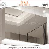 Cabinet de salle de bain en PVC moderne moulé avec miroir