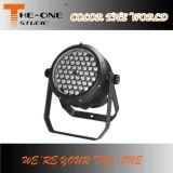 illuminazione impermeabile della fase di 54X3w RGBW LED