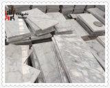 Естественная плитка Италии белая мраморный Bianco Carrara мраморный
