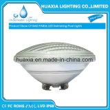 SMD3014 IP68 12VAC chauffent PAR56 la lumière blanche de syndicat de prix ferme de la natation sous-marine DEL