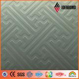 Yalida precio de fábrica Touch Serie metálica de plata del ACP (TCH-1001)