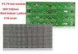 Красные крытые пикселы 64X32 модуля 304X152mm индикации СИД F3.75 P4.75 с Hub08