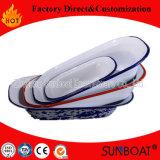 Тарелка расстегая традиционной эмали Sunboat продолговатая