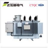 Régulateur de tension automatique immergé dans l'huile de régulateur de tension triphasé à C.A.