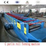 Roulis de faisceau en acier de forme de C formant la machine
