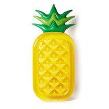 Ontspan de Opblaasbare Ananas Airmattress van pvc van de Vlotter van het Zwembad