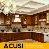 In het groot Amerikaanse Antieke Stevige Houten Keukenkasten (ACS2-W26)