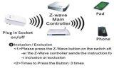 Schakel/van z-Golf de Automatische Draadloze Slimme Contactdoos van de Stop van de Automatisering van het Huis in