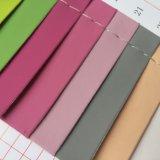 パッドの箱のノートカバーのための明白な表面PUの革
