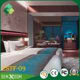 Hot Sell Luxury Style Bedroom Conjunto de mobiliário de hotel (ZSTF-09)