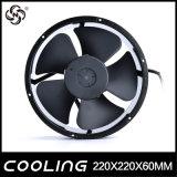 기계 둥근 냉각 축 팬 220V AC 22060 AC 팬 220X220X60mm