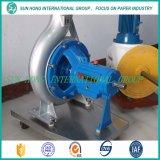 Pompe de pulpe pour le papier de rebut réutilisant la machine