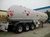 3 assen 56cbm de Tanker van het Gas 56000 van de Op zwaar werk berekende van LPG Liter Aanhangwagen van de Tank