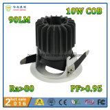 ESPIGA do projector 10W do diodo emissor de luz do poder superior interna com o diodo emissor de luz do CREE na opção