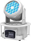 Kleine 18X3watt RGB LED Wäsche-bewegliches Hauptlicht