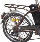 vélo électrique se pliant de type de modèle de roue parlé par moteur de 36V 12ah 250W (JSL039ZL-1)
