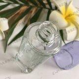30ml rimuovono la bottiglia crema di vetro con la pompa della lozione dell'oro di Alumite per le estetiche (PPC-GB-014)