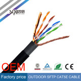 Cable CAT5 LAN sipu impermeable Cat5e SFTP cable de la red al aire libre