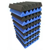 Cuñas de alta densidad de la espuma de los paneles acústicos para la estructura del estudio
