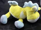 Juguetes rellenos felpa azul amarilla de Lovey del caballo blanco