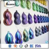Pigmentos em mudança do Chameleon da cor
