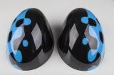 真新しいABS小型たる製造人R56-R61のための高品質カーボンミラーカバーとのプラスチック紫外線保護されたスポーティな様式鮮やかで青いカラー