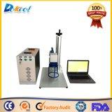 Máquina de grabado Handheld de la etiqueta de plástico del laser de la fibra 20W para los componentes electrónicos, utensilios de la cocina